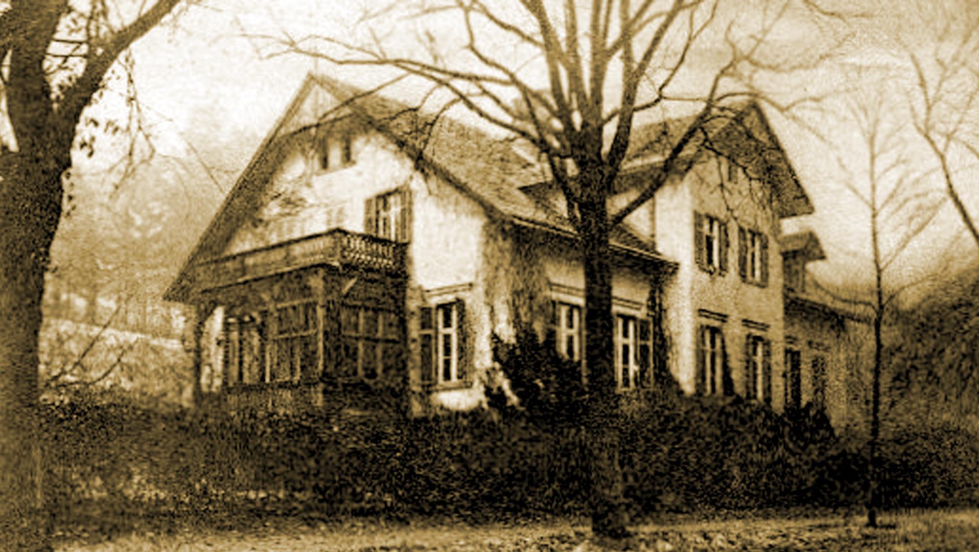 Gräfliche Villa - Historische Ansicht