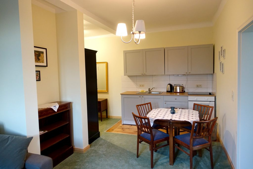 Küchenzeile Ferienwohnung